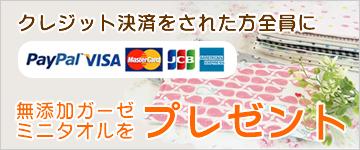 クレジット決済キャンペーン